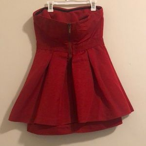 silence + noise Dresses - Simple Red Dress